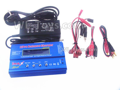 Wltoys 144001 Upgrade B6 Balance charger and Power Charger unit Parts. It Can charger 2S 7.4v or 3S 11.1V Lipo Battery.