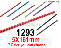 Wltoys 144001 Central transfer shaft Parts. The size is 5x161mm. 144001.1293.