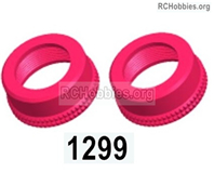 Wltoys 144001 Shock absorber cap assembly Parts. Total 2pcs. The size is 16X7.2. 144001.1299.