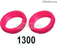 Wltoys 144001 Adjustment ring assembly Parts. Total 2pcs. The size is 17x5mm. 144001.1300.