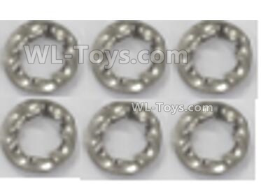 Wltoys 144001 Gasket  Parts. The size is 63X4X0.5mm. Total 6pcs. 144001.1312.