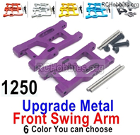 Wltoys 144001 Upgrade Front Metal Swing Arm Parts. 4 Color you can choose