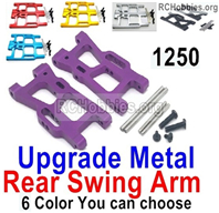 Wltoys 144001 Upgrade Rear Metal Swing Arm Parts. 4 Color you can choose