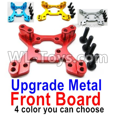Wltoys 144001 Upgrade Metal Front Shock absorber board Parts. 4 colors you can choose