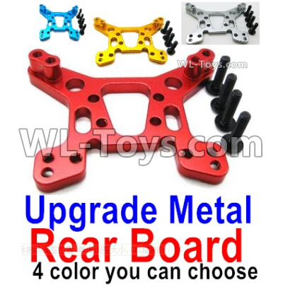 Wltoys 144001 Upgrade Metal Rear Shock absorber board Parts. 4 Colors you can choose