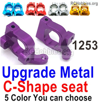 Wltoys 144001 Upgrade Metal C-Shape seat Parts, Door-Shape Seat Parts. Total 2pcs. 4 Colors you can choose
