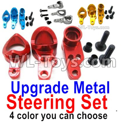 Wltoys 144001 Upgrade Metal Steering Set Parts. 4 Color you can choose
