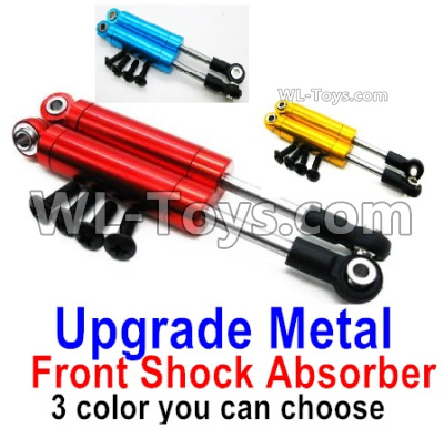 Wltoys 144001 Upgrade Metal Front Shock Absorber Parts. Total 2pcs. 3 Colors you can choose. 144001.1316