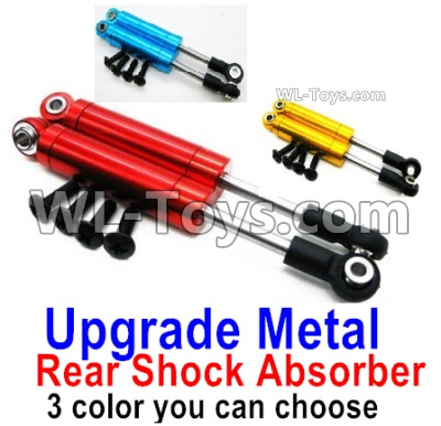 Wltoys 144001 Upgrade Metal Rear Shock Absorber Parts.Total 2pcs. 3 Colors you can choose. 144001.1316