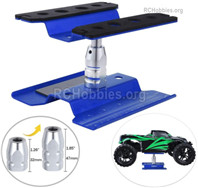 Wltoys 144001 Repair Platform maintenance platform Parts for RC Car, oil truck Starting Platform shunting platform, For 1/10 1/12 1/14 1/8 RC car.