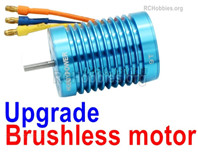 Wltoys 144001 Upgrade Brushless Motor Parts. Steel material is harder and more wear-resistant.