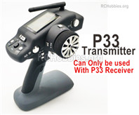 Wltoys 144001 Upgrade P33 Transmitter Parts. Can be used together with the P33 Receiver or the Brushless system.