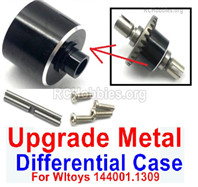 Wltoys 144001 Upgrade Metal Differential Case. For the 144001.1309.