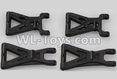 Wltoys 18401 RC Car Parts-Front and Rear Swing arm,Suspension Arm(Total 4pcs)-A959-02,Wltoys 18401 Parts
