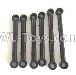 Wltoys 18401 RC Car Parts-Front and Upper Rod(2pcs) & Steering Rod(2pcs) & Rear and Upper Rod(2pcs)-0900,Wltoys 18401 Parts