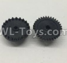 Wltoys 18401 RC Car Parts-The first and The second level gear(Total 2pcs)-0905,Wltoys 18401 Parts