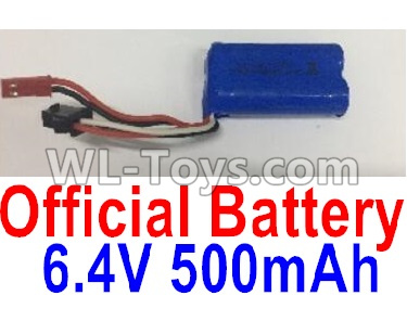 Wltoys 18401 RC Car Parts-Battery Parts-6.4V 500mAh Battery Parts(1pcs)-0914,Wltoys 18401 Parts