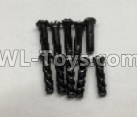 Wltoys 18401 RC Car Parts-Round Head machine screws Parts(M2.5x10)-10pcs-A303-30,Wltoys 18401 Parts