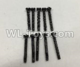 Wltoys 18401 RC Car Parts-Round Head self tapping screws Parts(M2x16)-10pcs-A949-41,Wltoys 18401 Parts