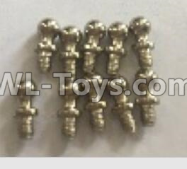 Wltoys 18401 RC Car Parts-K929-14 Ball head screws Parts(4X9.4)-10pcs,Wltoys 18401 Parts