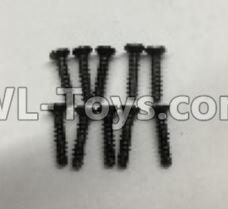Wltoys 18401 RC Car Parts-A949-48 Countersunk self tapping screws Parts(M2x9.5)-10pcs,Wltoys 18401 Parts