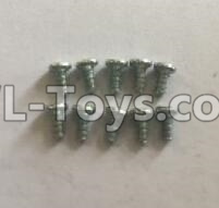 Wltoys 18401 RC Car Parts-0921 Round Head self tapping screws Parts(M2x4)-10pcs,Wltoys 18401 Parts