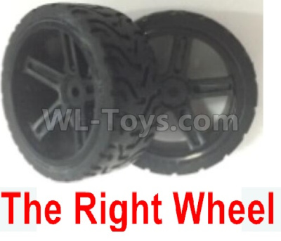 Wltoys 184012 RC Car Parts-The whole Right wheel unit(2pcs)-184012.0803,Wltoys 184012 Parts