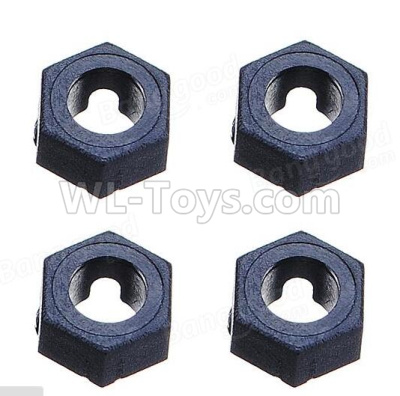 Wltoys 184012 RC Car Parts-Hexagonal round seat(4pcs)-A949-11,Wltoys 184012 Parts
