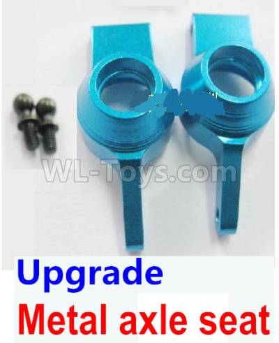 Wltoys 184012 RC Car Upgrade Metal axle seat-Blue,Wltoys 184012 Parts