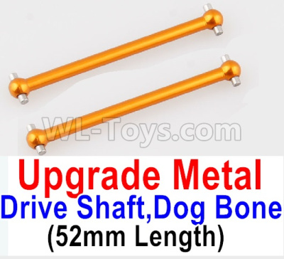 Wltoys 184012 RC Car Upgrade Metal Drive shaft Parts,Dog Bone(2pcs)-Yellow-A949-25,Wltoys 184012 Parts