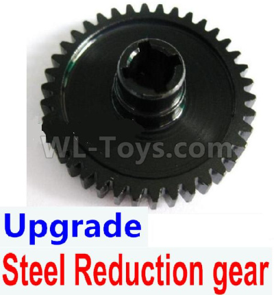 Wltoys 184012 RC Car Upgrade Steel Reduction gear-Black,Wltoys 184012 Parts