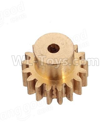 Wltoys 184012 RC Car Parts-Copper motor Gear Parts(1pcs)-0.7 Modulus-17 Teeth,Wltoys 184012 Parts