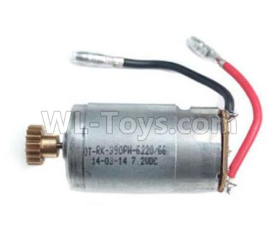 Wltoys 184012 RC Car Parts-Main motor with Motor gear,390 Motor--184012.1046,Wltoys 184012 Parts