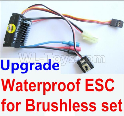 Wltoys 184012 RC Car Upgrade waterproof ESC for the Brushless set,Wltoys 184012 Parts