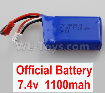 Wltoys 184012 RC Car Parts-Battery,7.4v 1100mah battery(2pcs)-A949-27,Wltoys 184012 Parts