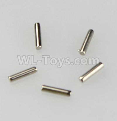 Wltoys 184012 RC Car Parts-Whell shaft pin Parts,Car Axle Hinge Pin Parts(5pcs)-1.5mmX6.7mm- A949-50,Wltoys 184012 Parts