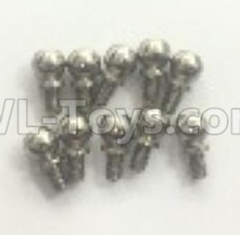 Wltoys 184012 RC Car Parts-Ball head screw(10pcs)-9.3X5mm-A949-45,Wltoys 184012 Parts