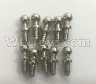 Wltoys 184012 RC Car Parts-Ball head screw(10pcs)-10.8X4mm-A949-46,Wltoys 184012 Parts