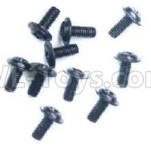 Wltoys 184012 RC Car Parts-Round with referral screws Parts-M2.5X6X6(10PCS)-A949-43,Wltoys 184012 Parts
