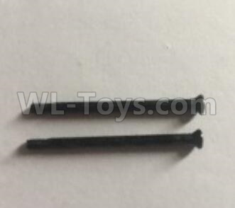Wltoys 184012 RC Car Parts-Countersunk head step screw (2pcs)-2X29KM-D3.5-lower half tooth 4mm-A979-2.0891