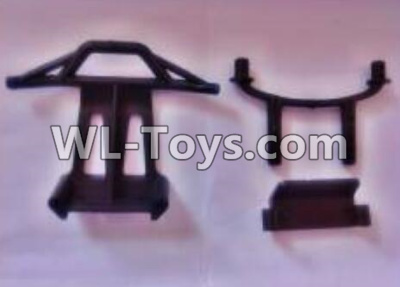 Wltoys 18402 RC Car Parts-Front and Rear Anti-collision frame Parts-A979-03,Wltoys 18402 Parts