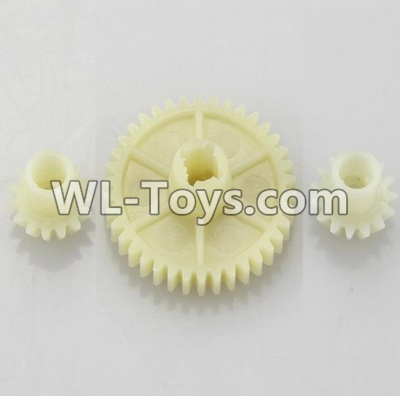 Wltoys 18402 RC Car Parts-Reduction gear with 2 small gear-A949-24,Wltoys 18402 Parts