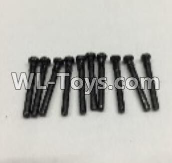 Wltoys 18402 RC Car Parts-Round Head self tapping screws Parts(M2x19)-10pcs-0917,Wltoys 18402 Parts