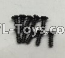 Wltoys 18402 RC Car Parts-A949-47 Countersunk self tapping screws Parts(M2x16)-10pcs,Wltoys 18402 Parts