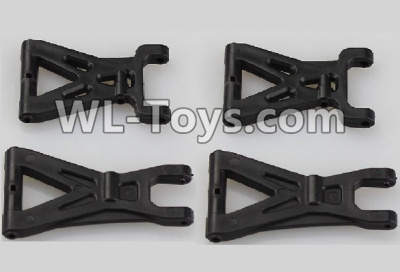 Wltoys 18403 RC Car Parts-Front and Rear Swing arm Parts,Suspension Arm(Total 4pcs)-A959-02,Wltoys 18403 Parts