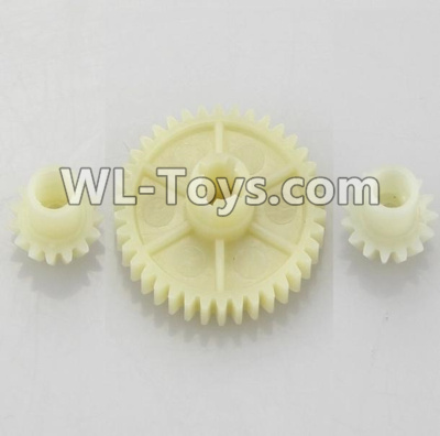 Wltoys 18403 RC Car Parts-Reduction gear with 2 small gear-A949-24,Wltoys 18403 Parts