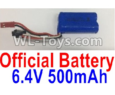 Wltoys 18403 RC Car Parts-Battery Parts-6.4V 500mAh Battery Parts(1pcs)-0914,Wltoys 18403 Parts