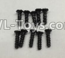 Wltoys 18403 RC Car Parts-Round Head self tapping screws Parts(M2x7)-10pcs-A949-39,Wltoys 18403 Parts