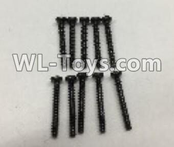 Wltoys 18403 RC Car Parts-Round Head self tapping screws Parts(M2x16)-10pcs-A949-41,Wltoys 18403 Parts