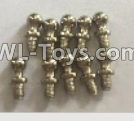 Wltoys 18403 RC Car Parts-K929-14 Ball head screws Parts(4X9.4)-10pcs,Wltoys 18403 Parts